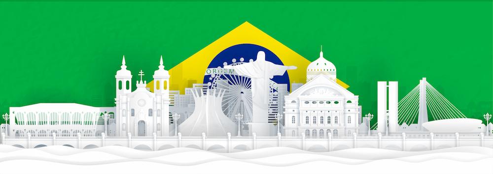 bandeira do brasil locais de viagem