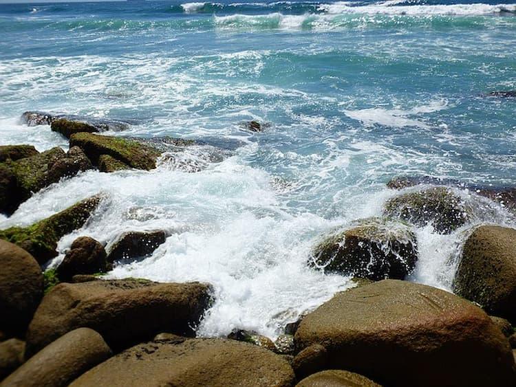 Praia rosa Santa Catarina